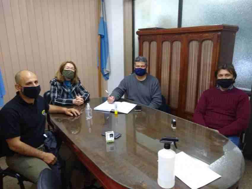 Reunión del Comité Mixto de Salud y Seguridad en el Trabajo en la Caja Municipal de Jubilaciones y Pensiones