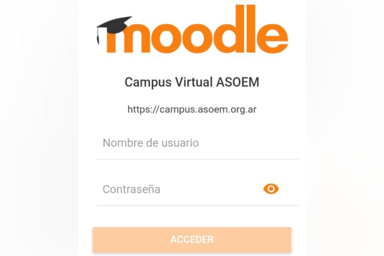 Aplicación Moodle