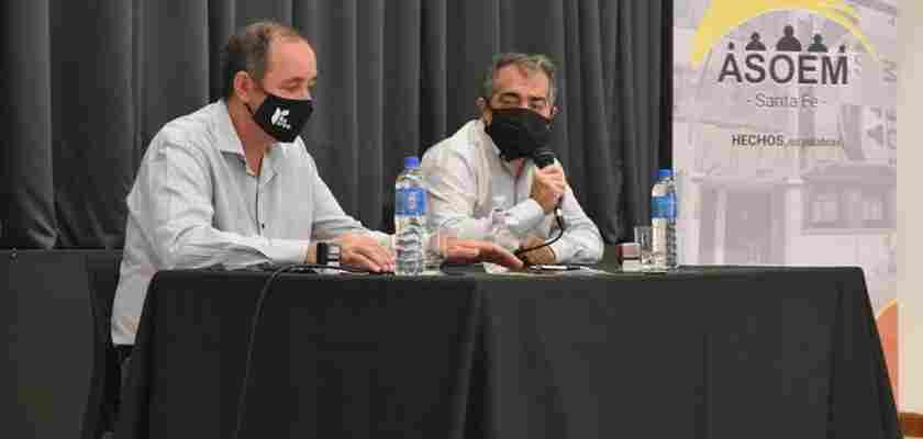 Firma del Acta Paritaria 2020 en Recreo.