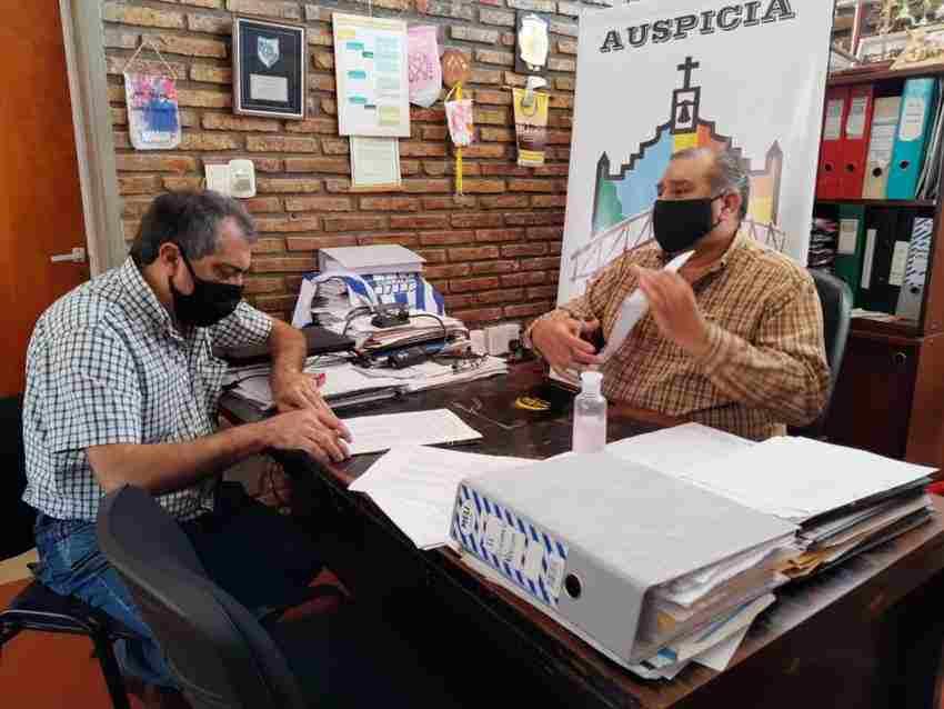 Firma del Acta Paritaria 2020 en Arroyo Leyes.
