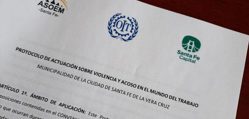 Protocolo de Actuación sobre Violencia y Acoso en el Mundo del Trabajo