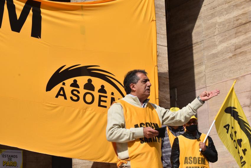 Manifestación de los Cuerpos Orgánicos en la Municipalidad de Santa Fe