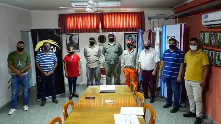 Ingresos a Contrato No Permanente en la Comuna de Monte Vera