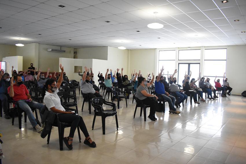 Reunión del Cuerpo de Delegadxs de ASOEM