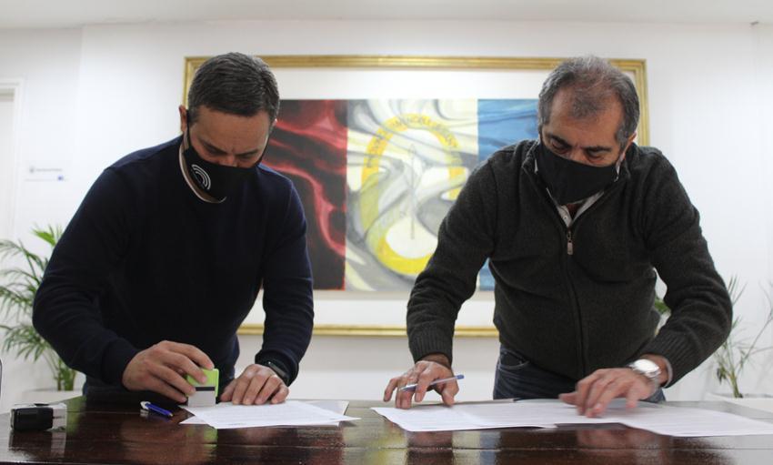 Firma de Acta Acuerdo en el HCM de Santa Fe.